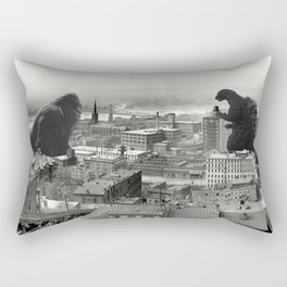 Cincinnati King Kong and Godzilla Rumble Rectangular Pillow