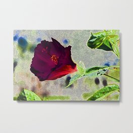 Lucky Flower Metal Print