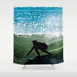Surfing - Hallowed Ground Shower Curtain