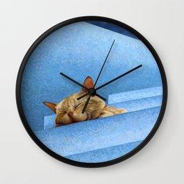 En Agonia Wall Clock