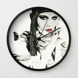 COUTURE Wall Clock