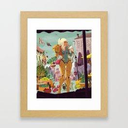 Samus Aran Framed Art Print