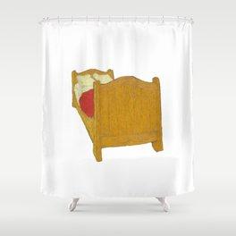 Vincent Van Gogh - The Bedroom Shower Curtain