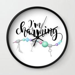 I'm Charming Wall Clock