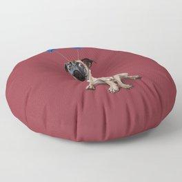 A Pug's Life (Colour) Floor Pillow