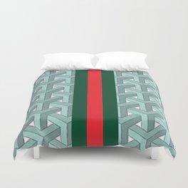Goyard guci Cheveron Pattern Duvet Cover