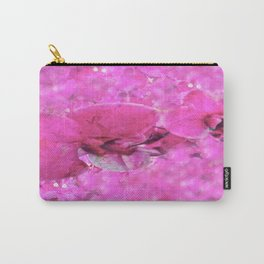 Pink Orchid Flower Dreams Carry-All Pouch