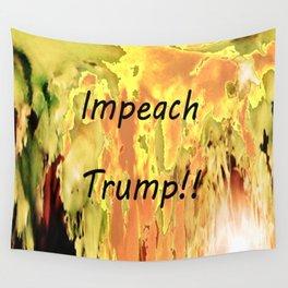 Impeach Trump! Wall Tapestry