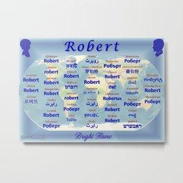 Robert Metal Print