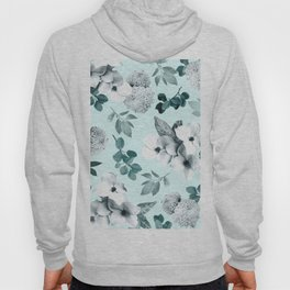 Night bloom - moonlit mint Hoody