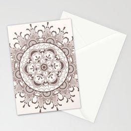Mandala chocolate Stationery Cards