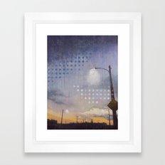 Sixth Street Lights Framed Art Print