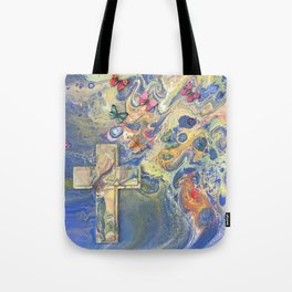 Heaven's Wings Tote Bag