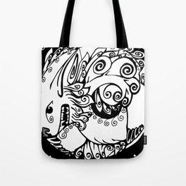 Fu Dog Tote Bag
