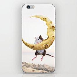 Cheese Moon iPhone Skin