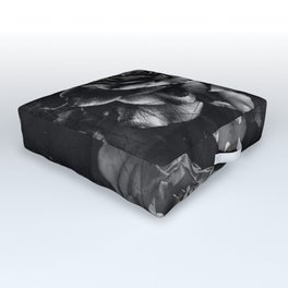 Distressed Roses Outdoor Floor Cushion