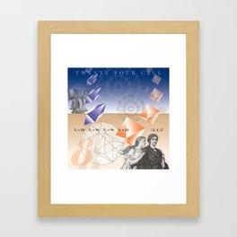 24 Cell (Revisited) Framed Art Print