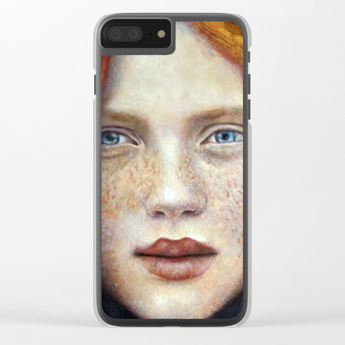 Face1 Clear iPhone Case