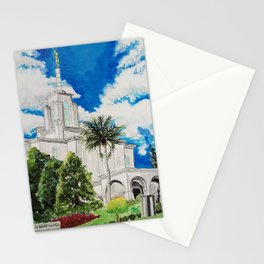 Bogota Columbia LDS Temple Stationery Cards