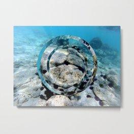 underwater 2 Metal Print