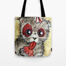 LOL zombie cat Tote Bag