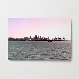 Auckland from Devonport Metal Print