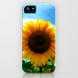 The sun will come out tomorrow iPhone Case
