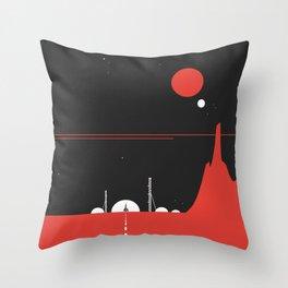 Station0 Throw Pillow