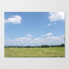 Beneath the Blue Sky Canvas Print