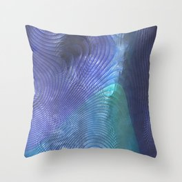 Perlamutr light Throw Pillow
