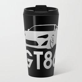 Toyota GT86 - silver - Travel Mug