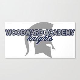 woodward academy knights Canvas Print