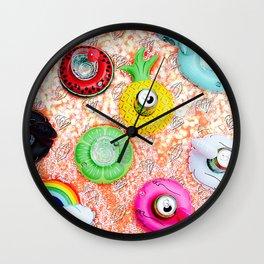 Summer Gem Wall Clock