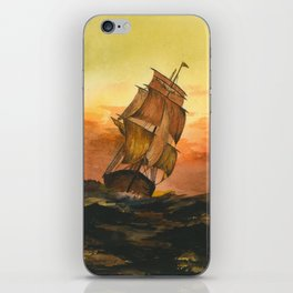 William #9 iPhone Skin