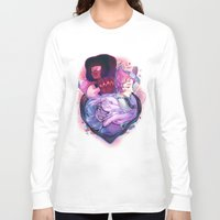 gem Long Sleeve T-shirts featuring Gem Guardians by asieybarbie