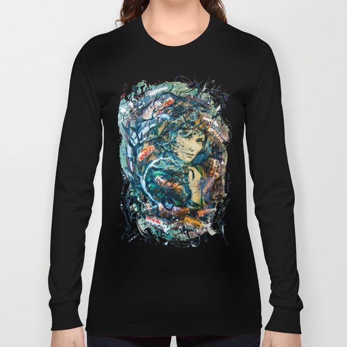 the woman's face #2 Long Sleeve T-shirt