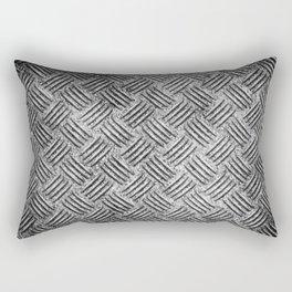 steel diamond plate texture Rectangular Pillow