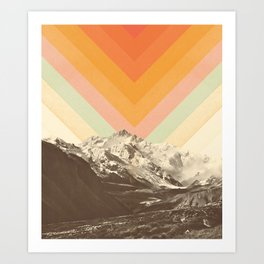 Mountainscape 2 Art Print