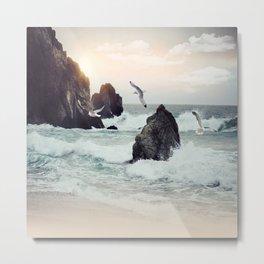 Cool Sea Breeze Metal Print