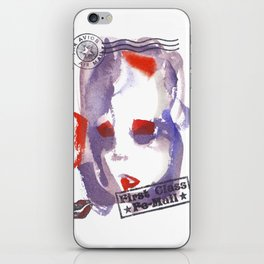 First Class Mail iPhone Skin