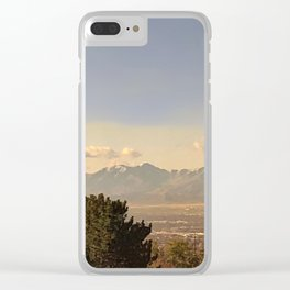 Salt lake 4 Clear iPhone Case