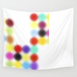 Ghost printing Dotty Wall Tapestry