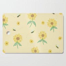 Bee & Sunflower Cutting Board