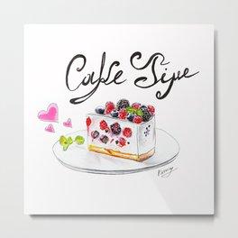 Cake Time Metal Print