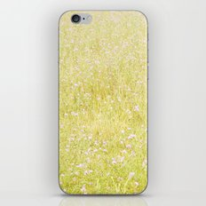 Sweet Light Wild Flowers iPhone & iPod Skin
