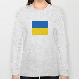 flag of ukraine Long Sleeve T-shirt