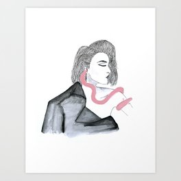 All the bad things Art Print