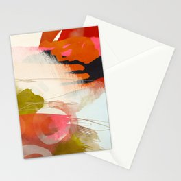 abstract landscape phantasy Stationery Cards