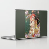 katamari Laptop & iPad Skins featuring Cat hat by Kami-katamari