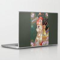 katamari Laptop & iPad Skins featuring Cat hat by Kami-katamari